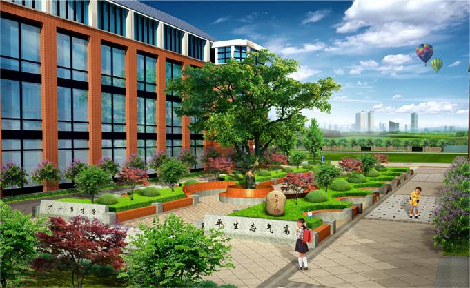 国外校园景观雕塑设计的分析与比较2,人文因素校园环境景观设计的